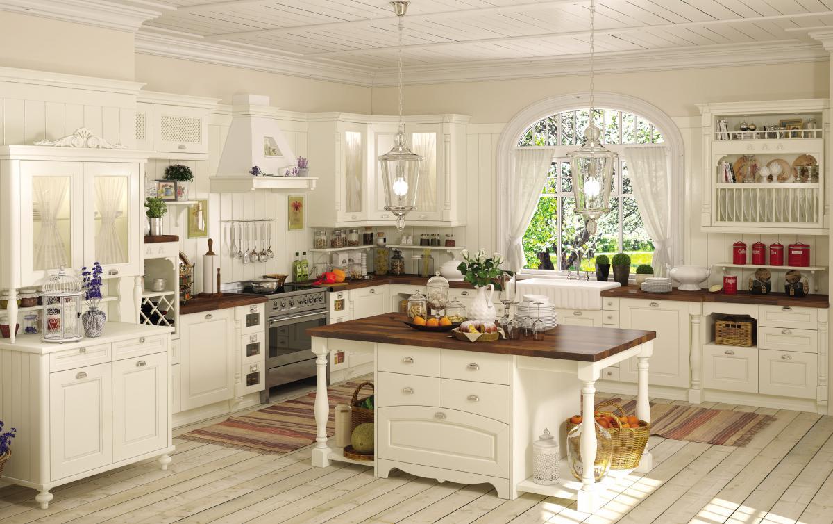 Кухни в стиле кантри и прованс: фото, отличия, сочетания