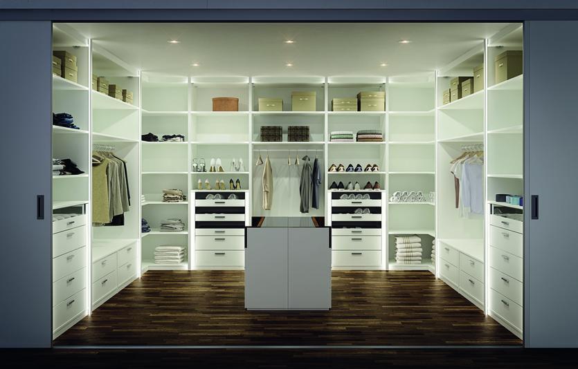 Идеальная гардеробная: фото, разновидности, производители