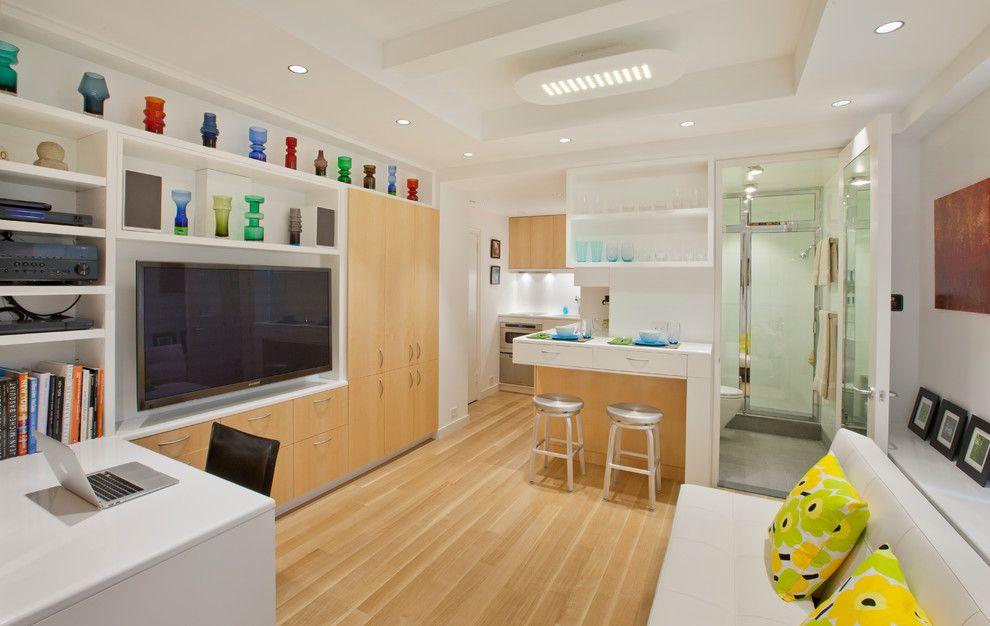Дизайн однокомнатной квартиры: фото, примеры, особенности