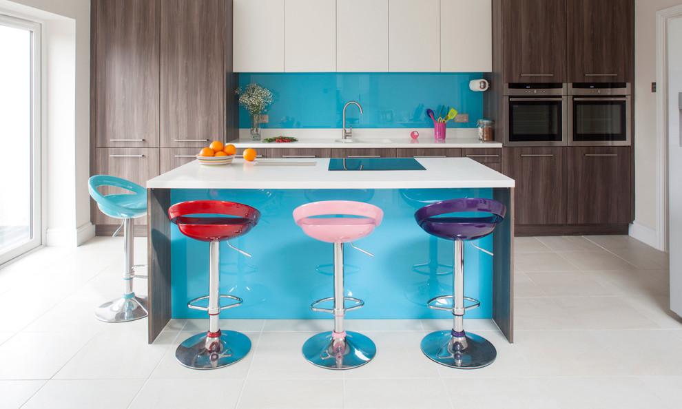 Сочетание цвета в интерьере кухни: фото, правила, советы