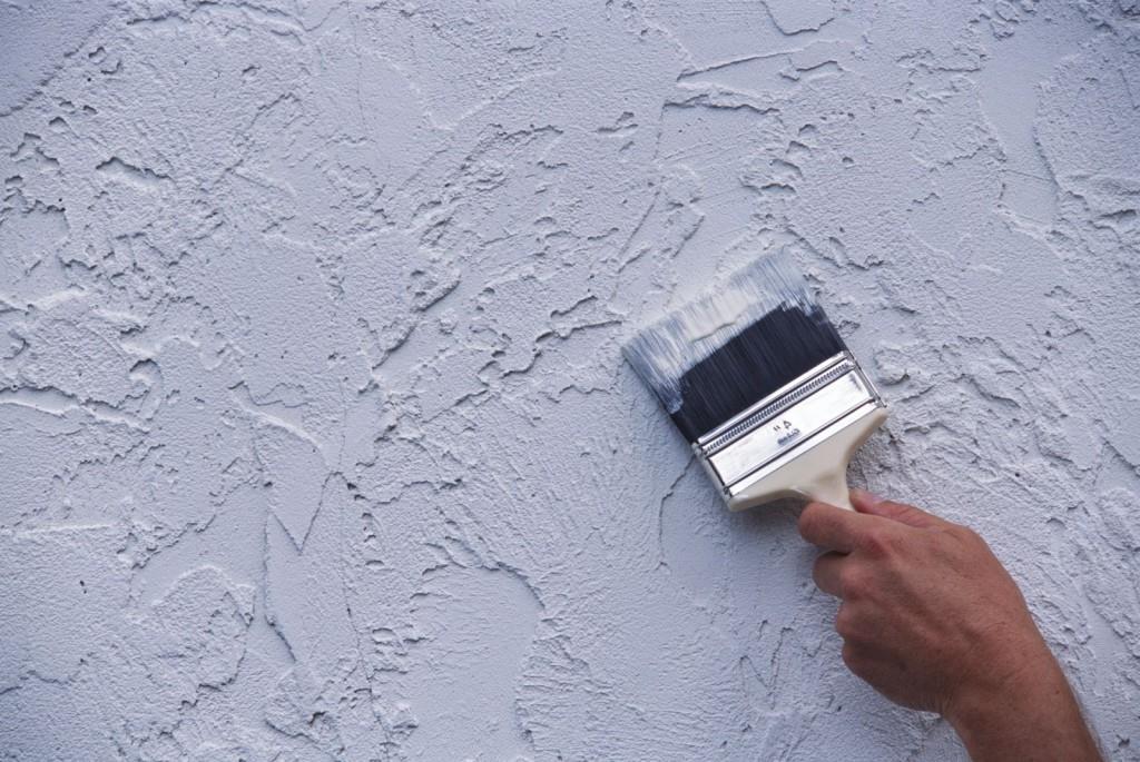 Фактурная краска для стен: фото, виды, инструменты, советы