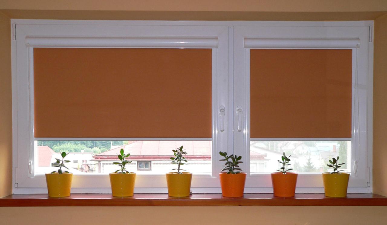 Рулонные шторы на пластиковые окна: фото, виды, как выбрать