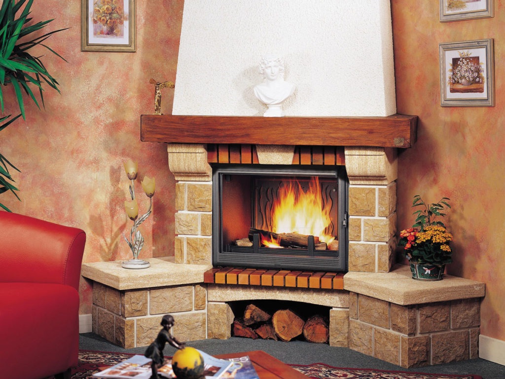 Дровяной камин для дома – тёплая классика жанра - Дача
