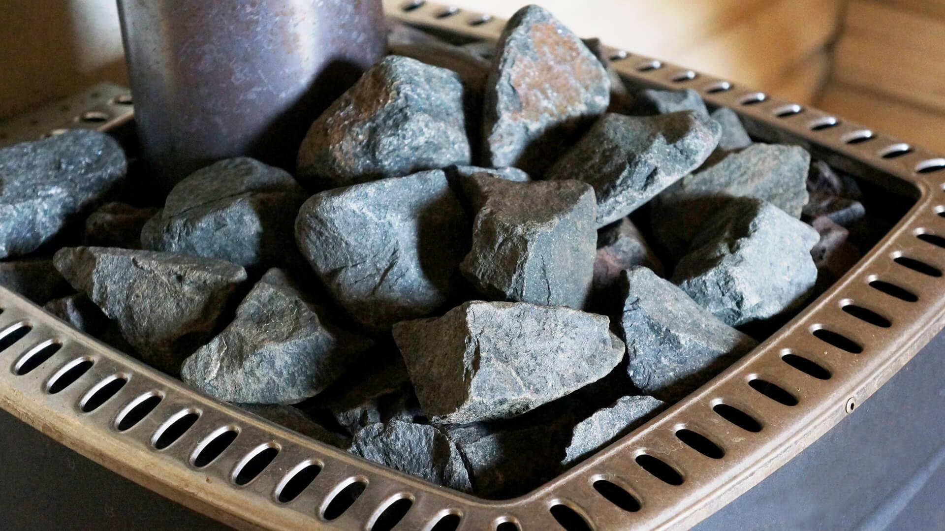 Камни для бани: фото, разновидности, особенности, как выбрать