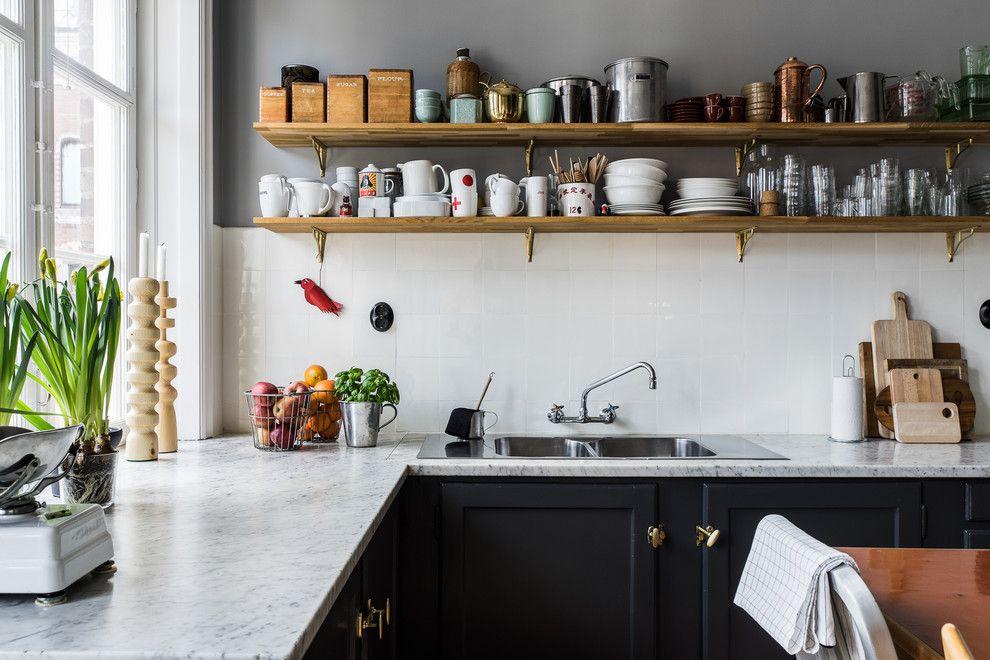 Кухня в скандинавском стиле: фото, история, характерные черты