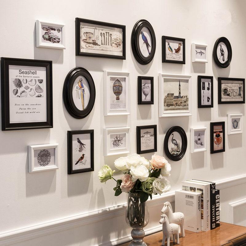Оформление стены фотографиями: советы, примеры, как прикрепить