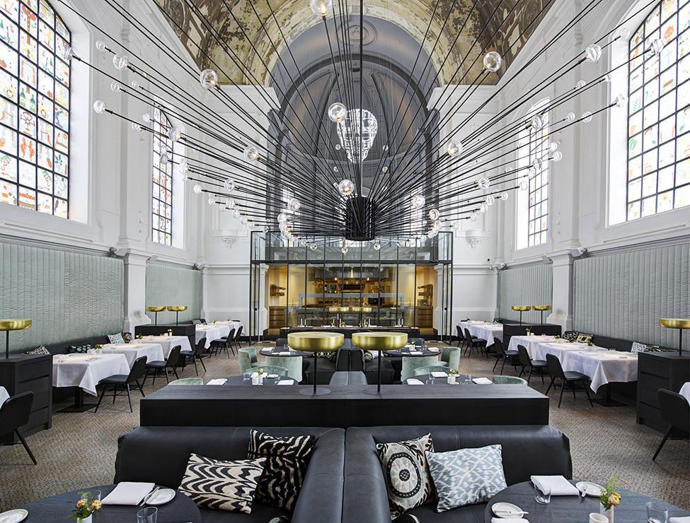 Стиль интерьера ресторана: фото, особенности и составляющие