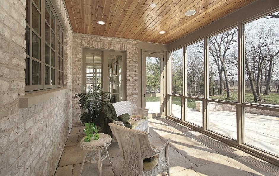 Раздвижные окна для террасы: Отдыхаем с комфортом - наш ответ