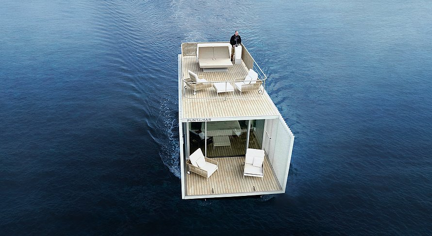Плавучий умный дом Punta Del Mar: фото, проект, преимущества