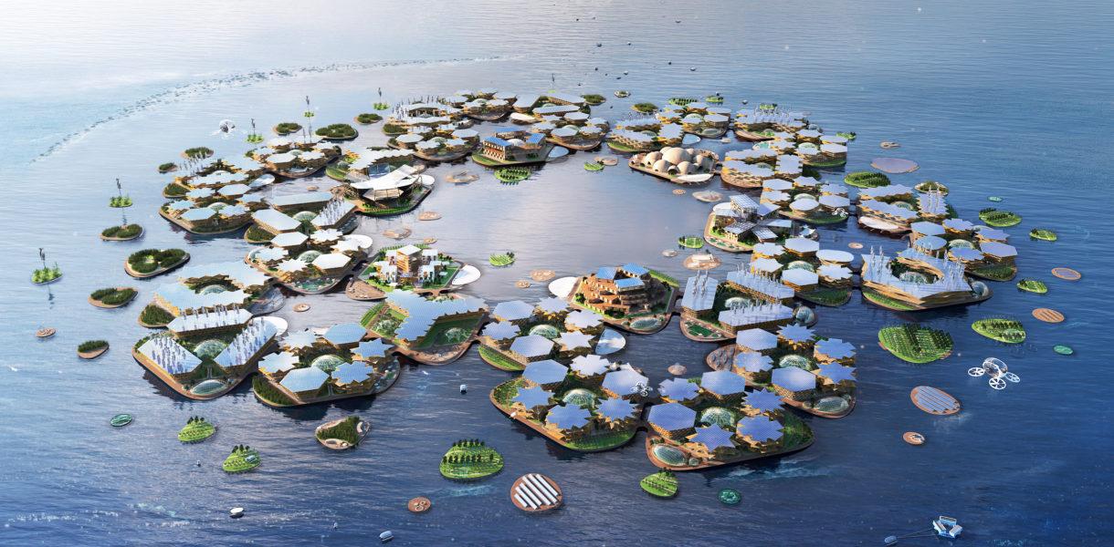 Плавучий город BIG Oceanix City: фото, история проекта