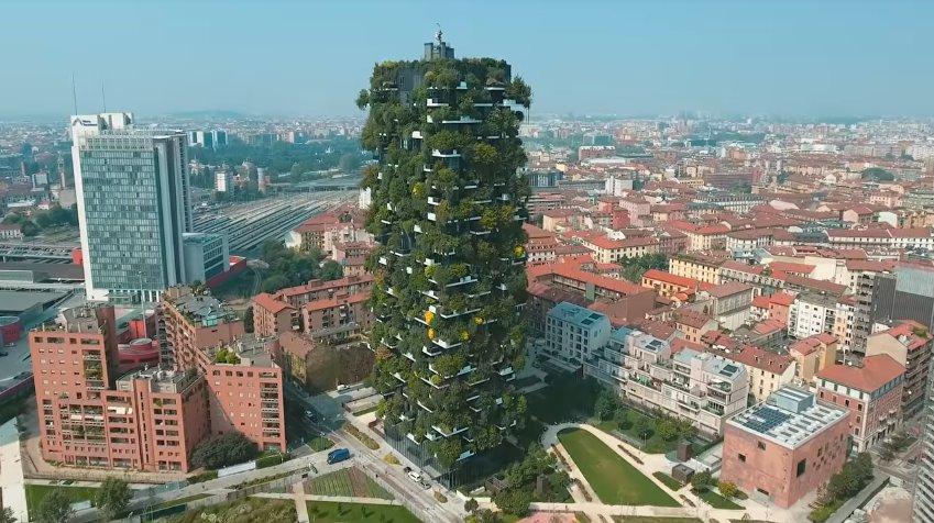 Вертикальный лес от Стефано Боери: фото, история проекта