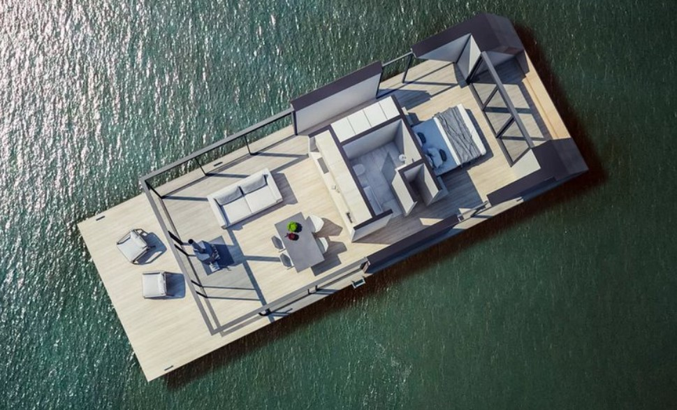 Плавучие дома Watervilla: фото, проект, солнечные батареи