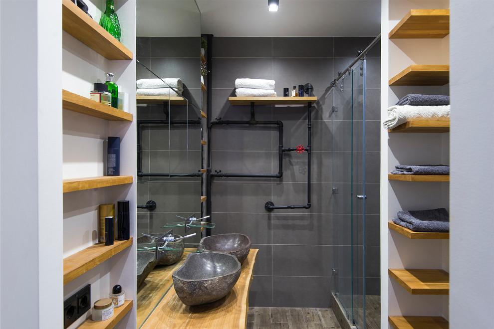 Туалет в стиле лофт: фото, характерные черты и особенности