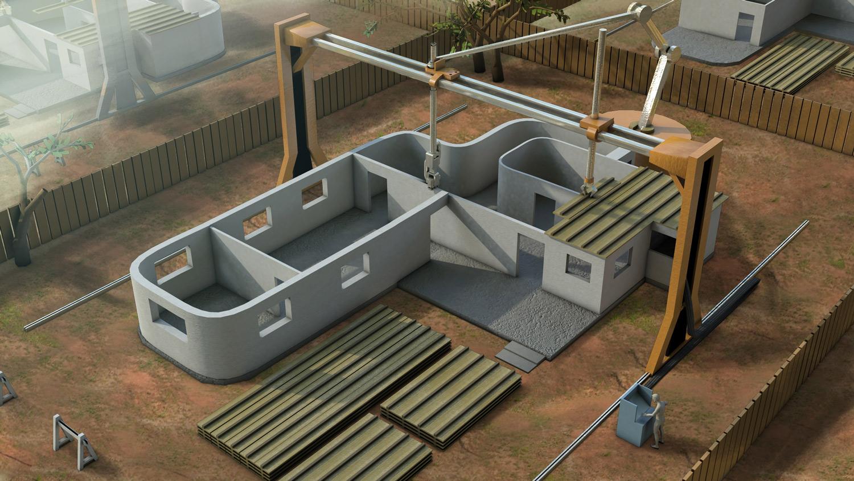 3D-печать домов: стартап ICON, организация New Story, Vulcan