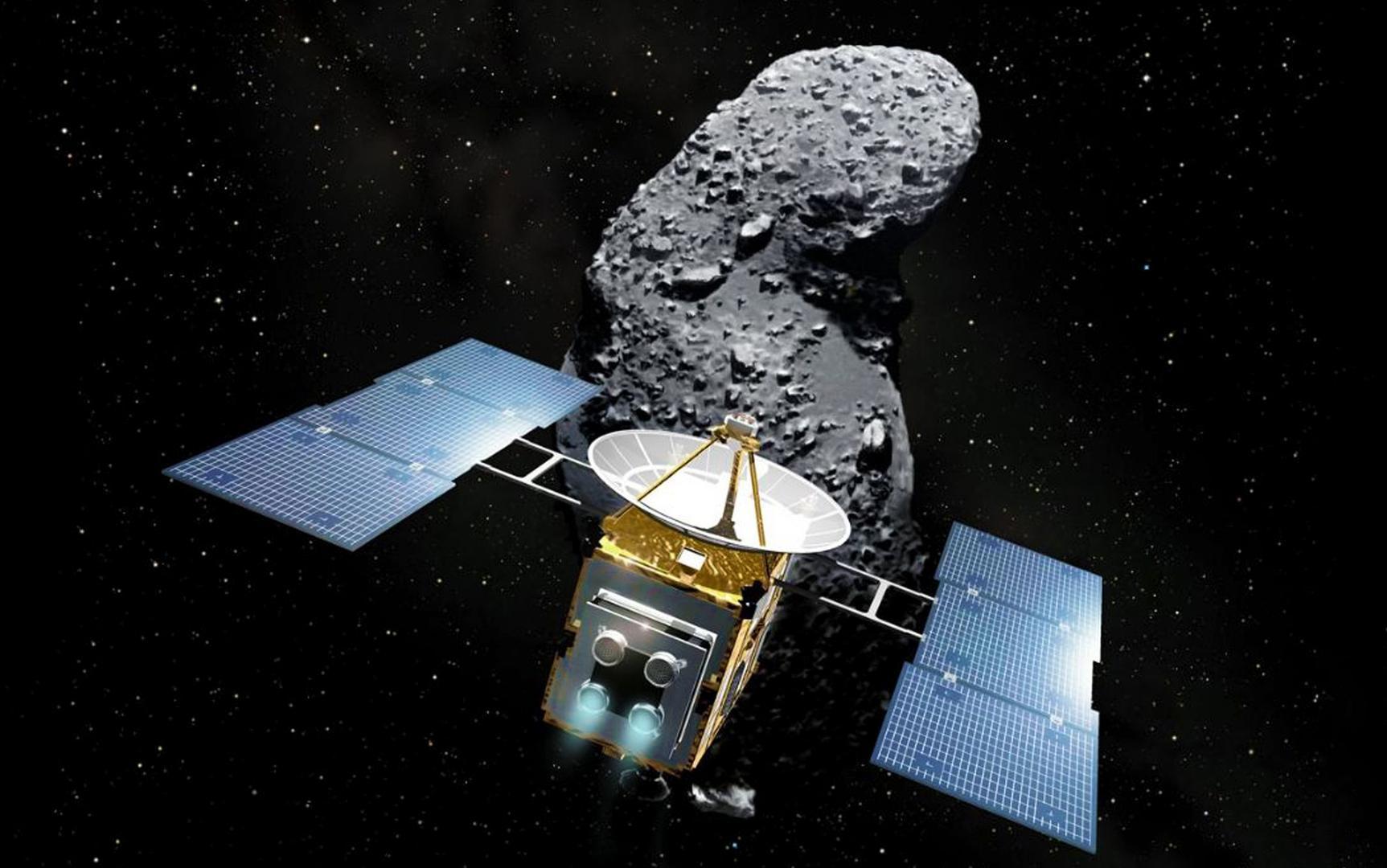 Hayabusa 2 приземление на астероид: фото, история, пробы
