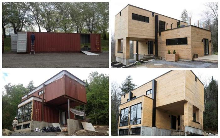 Дом из контейнеров: фото, проект, внешний вид, особенности