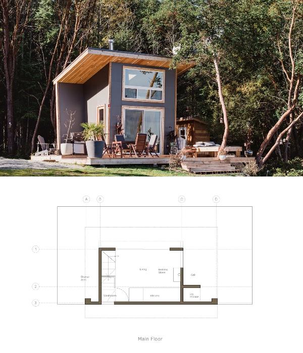 Крошечный дом в идеальную дачу: фото, проект, материалы