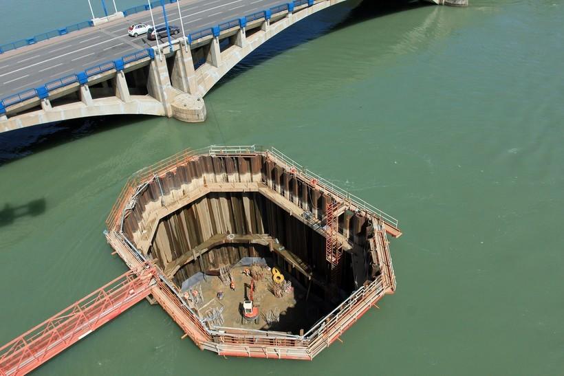 Строительство под водой: фото, способы, технологии