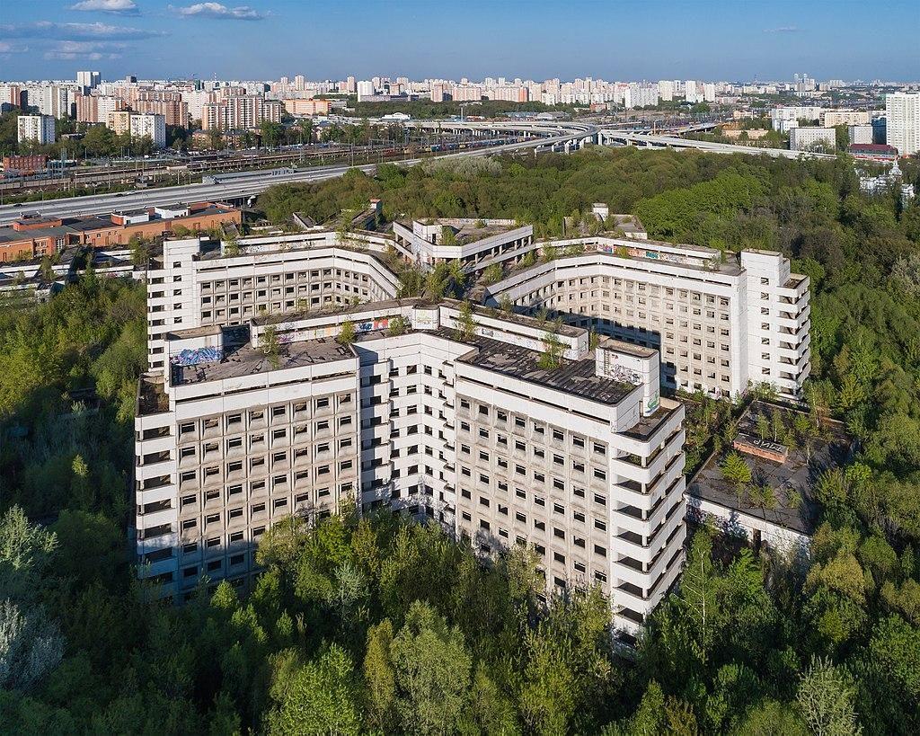 История «мертвой больницы» в Ховрино или рассказ о судьбе московского долгостроя