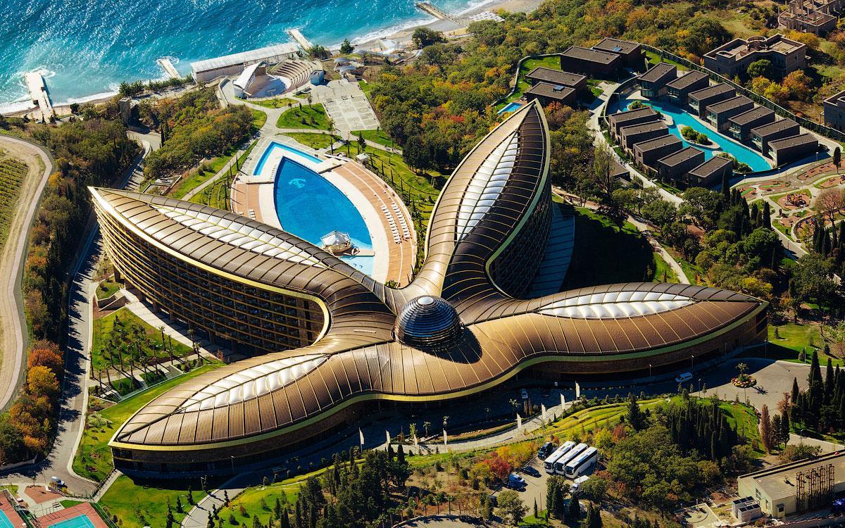 Отель Mriya Resort: фото, дизайн, архитектура и история