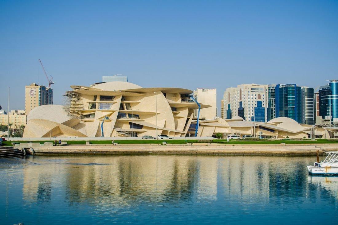 Национальный музей в Катаре: фото, проект и архитектура
