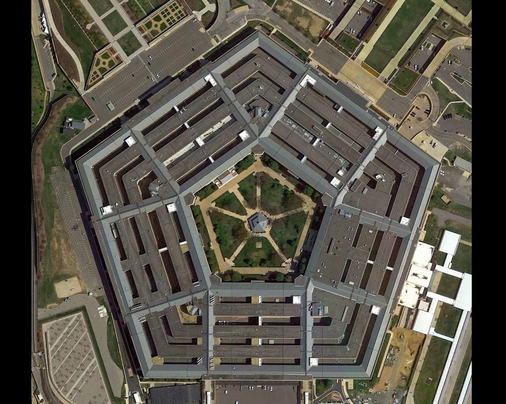 Пентагон: фото здания, внешний вид, архитектурные особенности