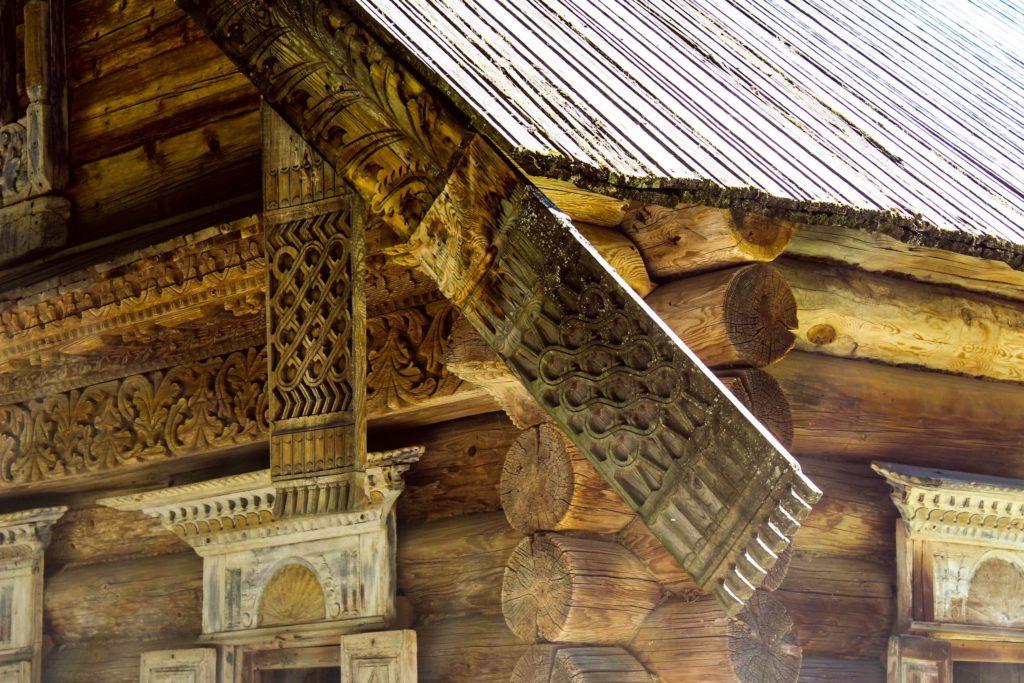 Как строили деревянные хоромы на Руси в XV и XVI веке?