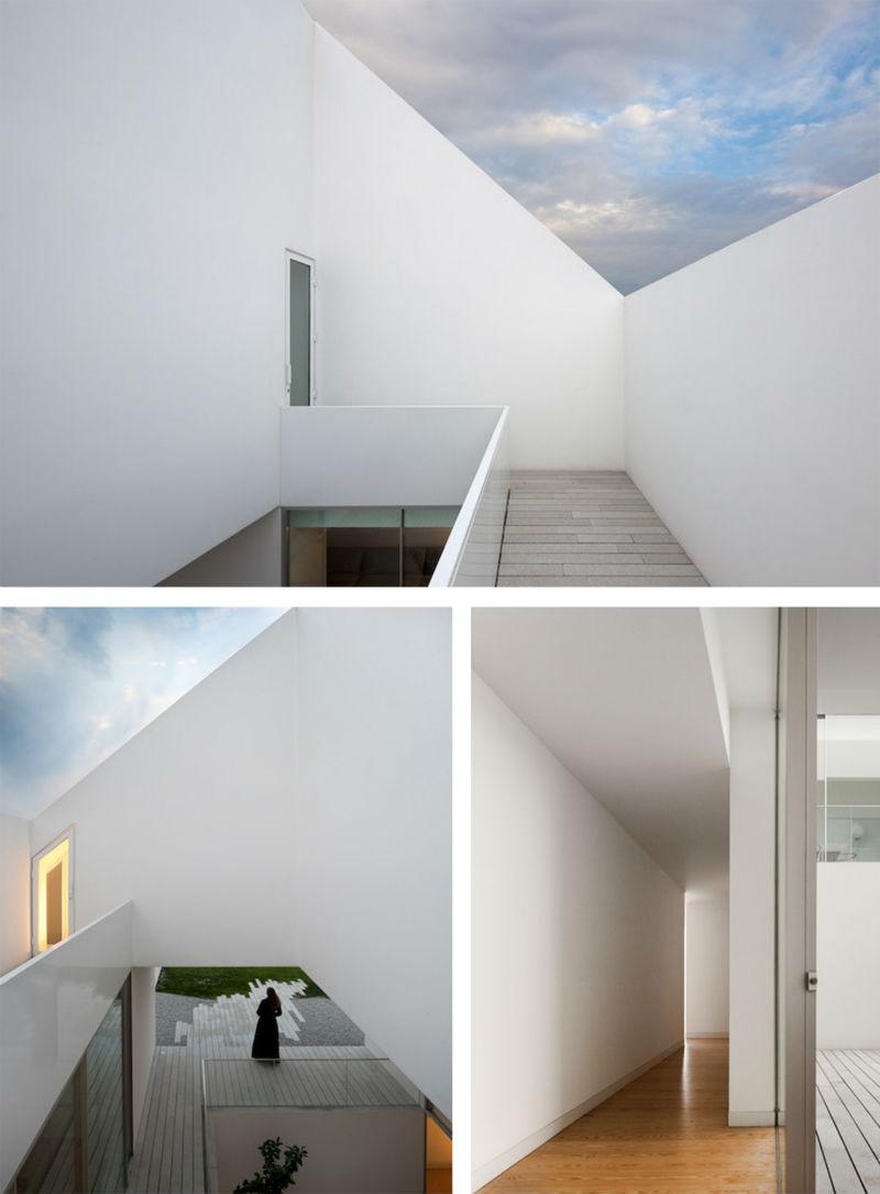 Гипер-минимализм: Белый дом для подпольной жизни в Португалии