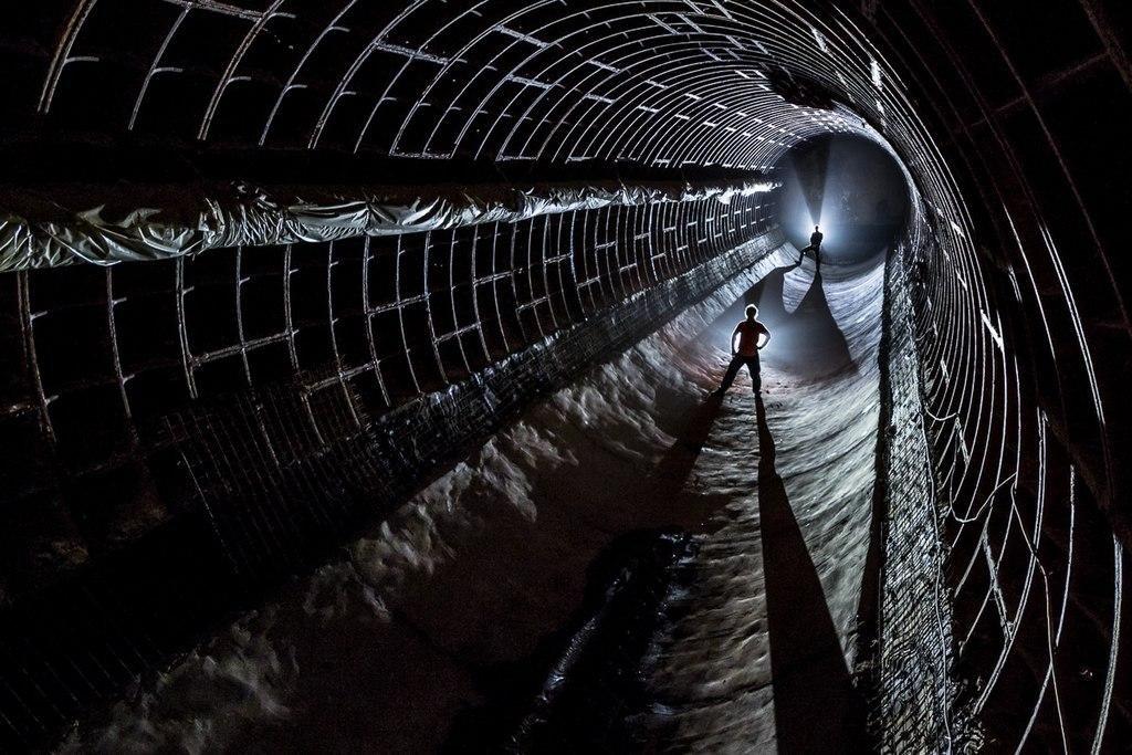 """Секретный подземный бункер """"спец-объект 703"""""""